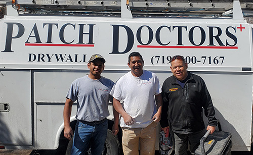 Meet the Crew of Patch Doctors in Colorado Springs